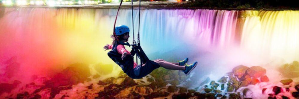 Night-Time Zipline Niagara